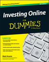 Investing Online For Dummies, 9th Edition (1119228379) cover image