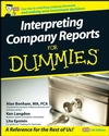 Interpreting Company Reports For Dummies (1119997879) cover image