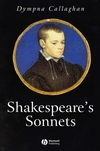 Shakespeare's Sonnets (1405113979) cover image