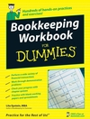 Bookkeeping Workbook For Dummies (047023797X) cover image