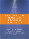 Handbook of Practical Program Evaluation, 3rd Edition (047052247X) cover image