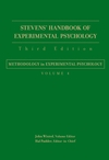 Stevens' Handbook of Experimental Psychology, Volume 4, Methodology in Experimental Psychology, 3rd Edition (047165017X) cover image