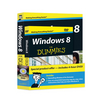 Windows 8 For Dummies, Book + DVD Bundle (111827167X) cover image