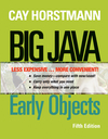 Big Java: Early Objects, 5th Edition Binder Ready Version (111842297X) cover image