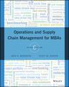 Operations and Supply Chain Management for MBAs, 6th Edition (111923607X) cover image