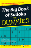 The Big Book of SuDoku For Dummies (0470105380) cover image