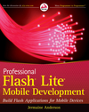 Professional Flash Lite Mobile Development (0470547480) cover image