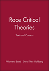 Race Critical Theories: Text and Context (0631214380) cover image