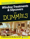 Window Treatments and Slipcovers For Dummies (0764584480) cover image