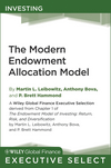 The Modern Endowment Allocation Model (1118006380) cover image