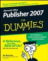 Microsoft Office Publisher 2007 For Dummies (1118052080) cover image