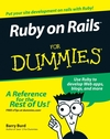 Ruby on Rails For Dummies (1118084780) cover image