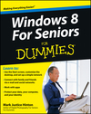 Windows 8 For Seniors For Dummies (1118120280) cover image