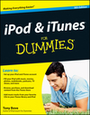 iPod and iTunes For Dummies, 9th Edition (1118199480) cover image