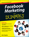 Facebook Marketing For Dummies, 4th Edition (1118400380) cover image