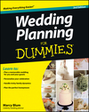 Wedding Planning For Dummies, 3rd Edition (1118435680) cover image