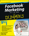 Facebook Marketing All-in-One For Dummies, 2nd Edition (1118466780) cover image