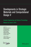 Developments in Strategic Materials and Computational Design V: Ceramic Engineering and Science Proceedings, Volume 35 Issue 8 (1119040280) cover image