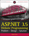 ASP.NET 3.5 Website Programming: Problem - Design - Solution (0470187581) cover image