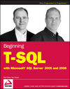 Beginning T-SQL with Microsoft SQL Server 2005 and 2008 (0470440481) cover image