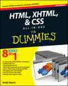 HTML, XHTML and CSS All-In-One For Dummies, 2nd Edition (0470937181) cover image