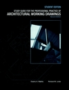 The Professional Practice of Architectural Working Drawings, 2nd Edition, Study Guide, Student Edition (0471040681) cover image