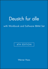 Deustch fur alle, 4e with Workbook and Software IBM4 Set (0471201081) cover image