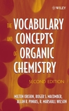 The Vocabulary and Concepts of Organic Chemistry, 2nd Edition (0471680281) cover image