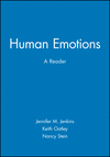 Human Emotions: A Reader (0631207481) cover image