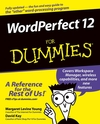 WordPerfect 12 For Dummies (0764578081) cover image