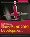 Professional SharePoint 2010 Development, 2nd Edition (1118131681) cover image