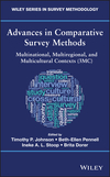 thumbnail image: Advances in Comparative Survey Methods: Multinational, Multiregional, and Multicultural Contexts (3MC)