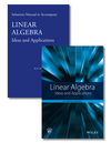 thumbnail image: Linear Algebra: Ideas and Applications Set, 4th Edition