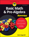 Basic Math and Pre-Algebra For Dummies, 2nd Edition (1119298881) cover image