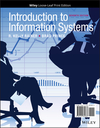 Introduction to Information Systems, Loose-Leaf Print Companion, 7th Edition (1119362881) cover image
