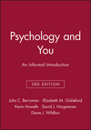 Psychology and You: An Informal Introduction, 3rd Edition (1405126981) cover image