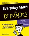 Everyday Math for Dummies book cover