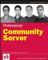 Professional Community Server (0470108282) cover image