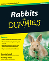 Rabbits For Dummies, 2nd Edition (0470496282) cover image