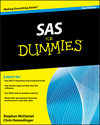 SAS For Dummies, 2nd Edition (0470539682) cover image
