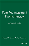 Pain Management Psychotherapy: A Practical Guide (0471157082) cover image