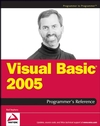 Visual Basic 2005 Programmer's Reference (0764571982) cover image