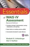 Essentials of WAIS-IV Assessment, 3rd Edition (1118271882) cover image