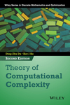 thumbnail image: Theory of Computational Complexity, 2nd Edition