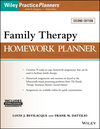 Family Therapy Homework Planner, 2nd Edition (1119246482) cover image