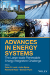 Advances in Energy Systems: The Large-scale Renewable Energy Integration Challenge (1119508282) cover image