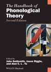 The Handbook of Phonological Theory, 2nd Edition (1405157682) cover image