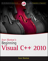Ivor Horton's Beginning Visual C++ 2010 (0470500883) cover image
