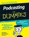 Podcasting For Dummies, 2nd Edition (0470501383) cover image