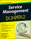 Service Management For Dummies (0470529083) cover image
